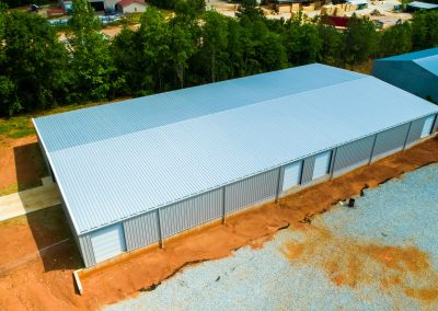 Large Pre-Engineered Steel Building