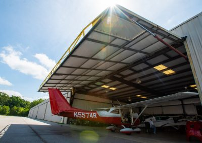 Large Pre-Engineered Metal Aircraft Hangar With Private Air Plane