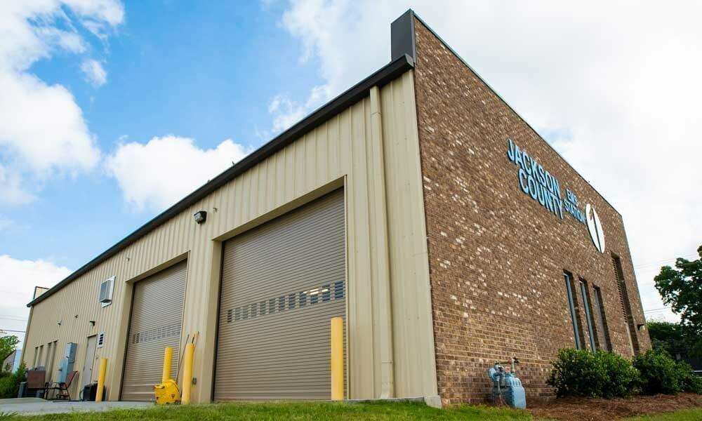 Jackson County EMC Pre-Engineered Metal Building