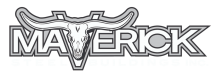 Maverick Steel Buildings Logo