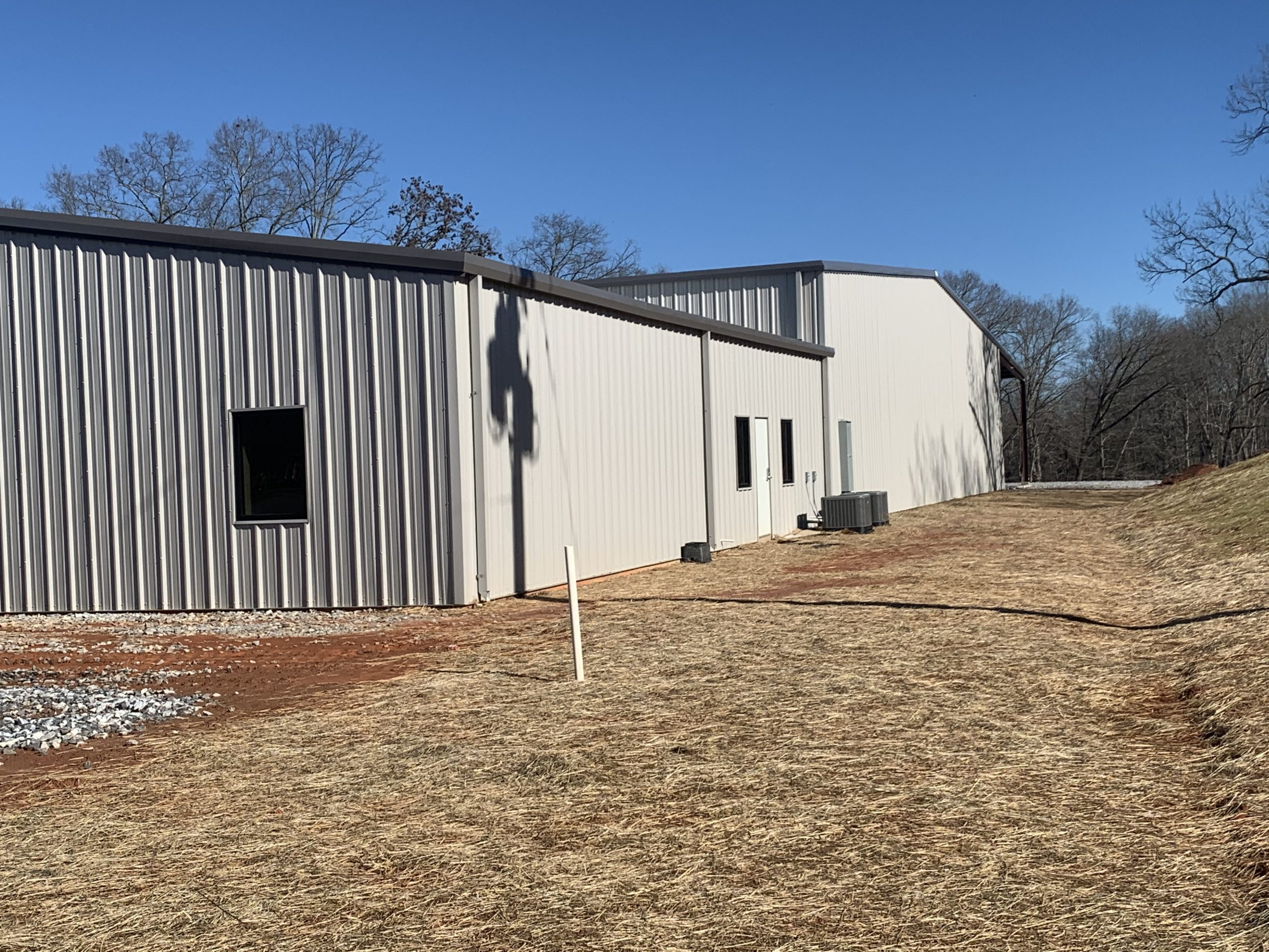 Pre-Engineered Metal Building With Custom Doors, Windows, And Climate Control