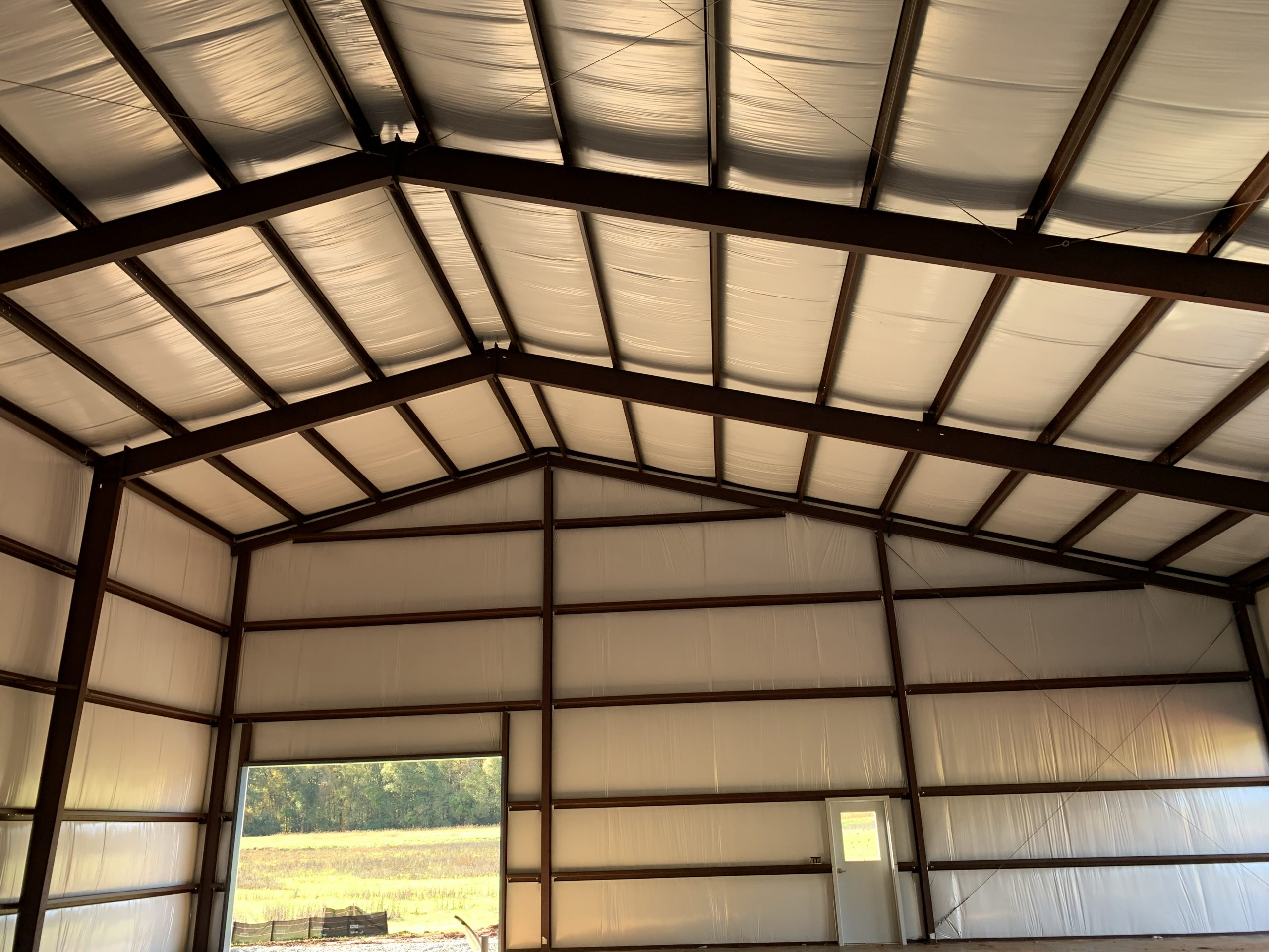 Steel Frame Industrial Building With Custom Insulation