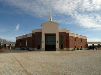 Steel Church Building
