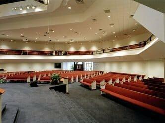 Interior Steel Church Building