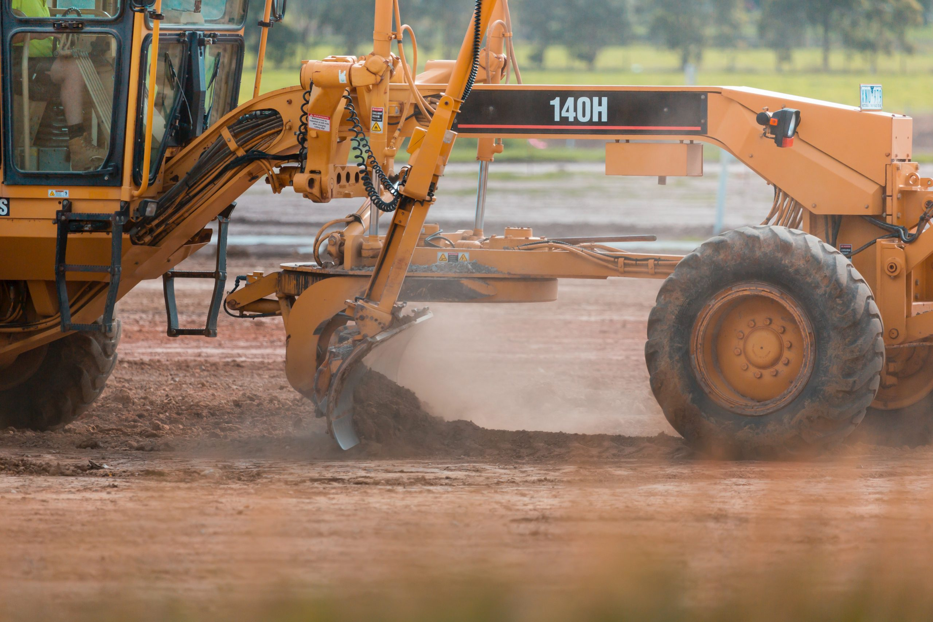 land grading for steel building construction (2)