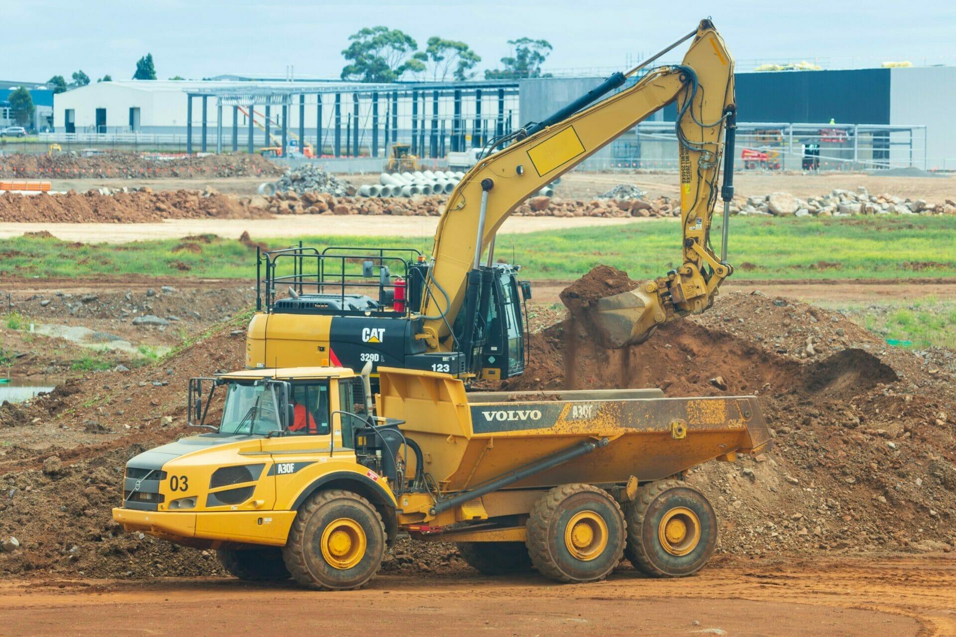land grading for steel building construction (5)