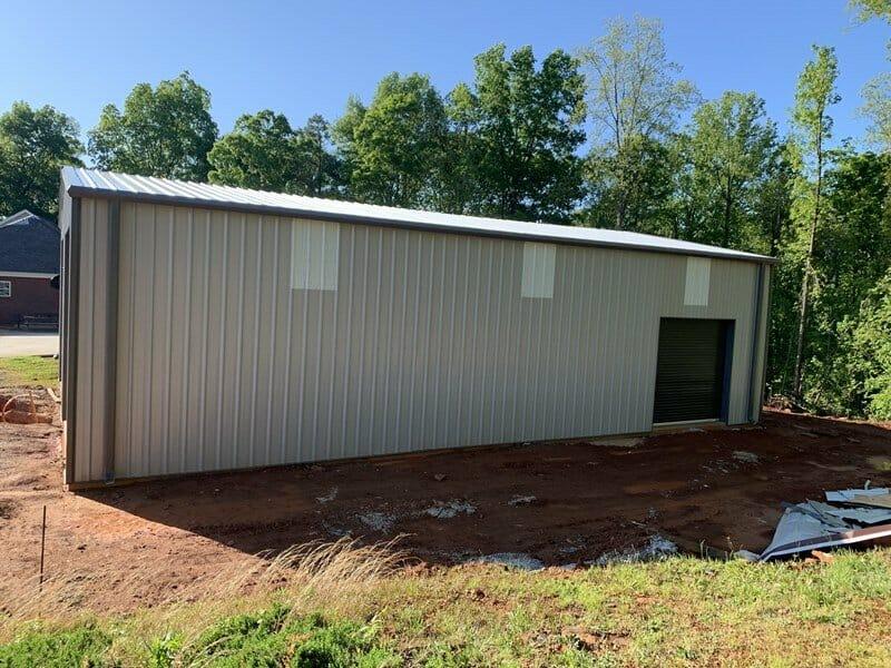 Pre-Engineered Custom Metal Garage Building